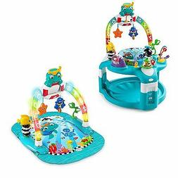Baby Einstein 2-in-1 Neptune Activity Gym and Saucer;