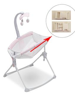 1 White Harness Seat Clip for Delta Baby Infant Rocker Bounc
