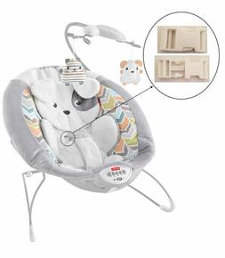 1 White Harness Seat Clip for Fisher Price Deluxe Bouncer In