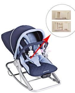 1 White Harness Seat Clip for Maclaren Baby Infant Rocker Bo