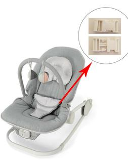 1 White Harness Seat Clip for Mamas and Papas Baby Rocker Bo