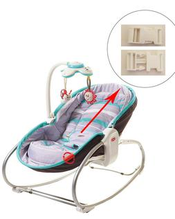1 White Harness Seat Clip for Tiny Love Kids Baby Rocker Bou
