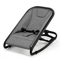 2-in-1 Baby Bouncer & Rocker Folding Infant Adjustable Recli