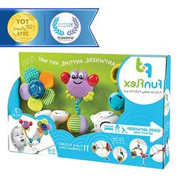 Fun Flex Award Winning Interchangeable Infant Baby Activity