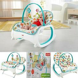 2020 Infant to Toddler Rocker Bouncer Seat Baby Chair Sleepe