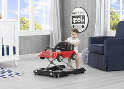 3 in 1 Activity Walker Jeep Vehicle Boys Apple Red First Ste