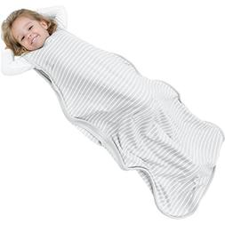 Woolino 4 Season Toddler Sleeping Bag, Merino Wool Baby Slee