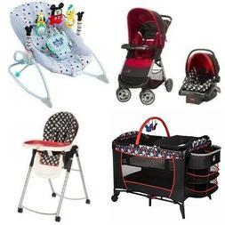 5 Pc. Mickey Mouse Newborn Set Car Seat Stroller Playard Cri