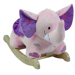 Rockabye Bella the Pink Elephant Rocker