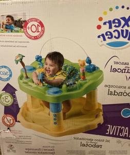 Evenflo Activity Centers Exersaucer Bounce and Learn Zoo Fri