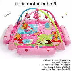 Baby Activity Gym Play Mat Newborn Toddler Toy Playland with