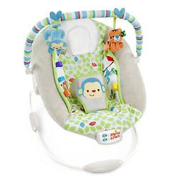 baby Bright Starts Merry Monkeys Cradling Bouncer new born c