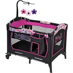 Baby Bassinet Crib Infant Nursery Center Bed Playard Sleeper