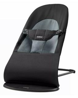 Baby Bjorn Bouncer Balance Soft- Mesh Black/Grey New Open Bo