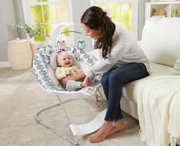 baby bouncer bassinet infant vibrating rocker rocking