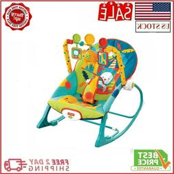Baby Bouncer Chair Rock Fisher-Price Infant to Toddler Rocke