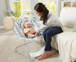 Baby Bouncer Seat Recliner Infant Bassinet Vibrating Chair R