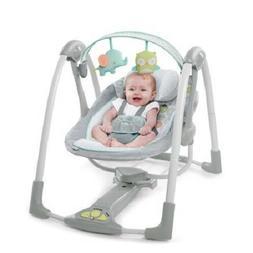 Baby Bouncer Swing Bassinet Infant Newborn Girl Nursery Recl
