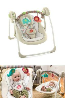 Baby Bouncer Swing Seat Rocker Portable Electric W/ Sounds I