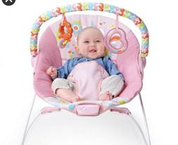 Bright starts baby bouncer vibration