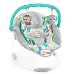 Baby Cradling Bouncer Seat Vibration & Melodies plush animal