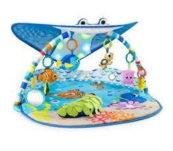 Disney Baby Finding Nemo Playmat - Mr. Ray Ocean Lights Acti
