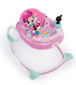 baby girl minnie mouse baby walker bouncer