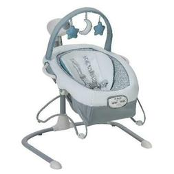 Baby Infant Swing Portable Baby Bouncer Small Crib Comfort S