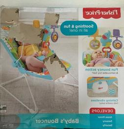 Baby Infant Toddler Fisher-Price Animal Kingdom Bouncer
