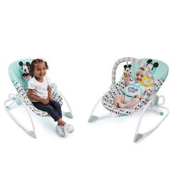 Baby Infant Toddler Rocker Bouncer Chair Mickey Mouse Themed