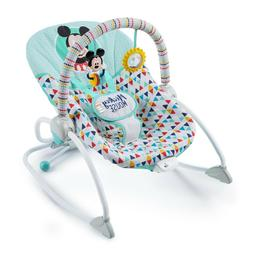 Disney Baby Mickey Mouse Infant Toddler Bouncer Chair Seat