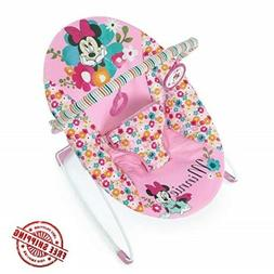 Disney Baby Minnie Mouse Perfect Vibrating Bouncer, Pink