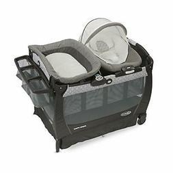 Graco Baby Pack 'n Play  Snuggle Suite LX Crib Bassinet Boun