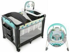 baby playard crib bassinet infant automatic bouncer