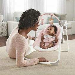 Baby Swing Bassinet Bouncer Infant Portable Girl Recliner Ch