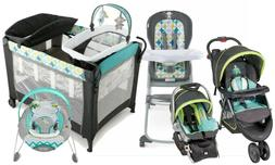 Baby Trend Stroller Car Seat Travel System with High Chair A