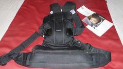BabyBjorn Baby Carrier One Air Black Mesh Ergonomic Retail $