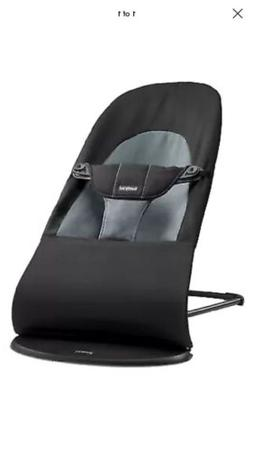 BABYBJORN Bouncer Balance Soft  Black/Dark Gray Cotton
