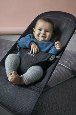 BABYBJORN Bouncer Bliss, Anthracite, Mesh