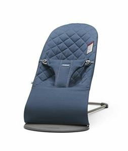 BABYBJORN Bouncer Bliss Midnight Blue Cotton Award Win Lux D