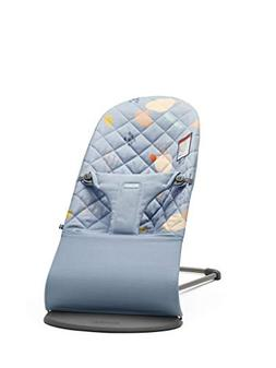 BABYBJORN Bouncer Bliss in Quilted Cotton, Confetti Blue