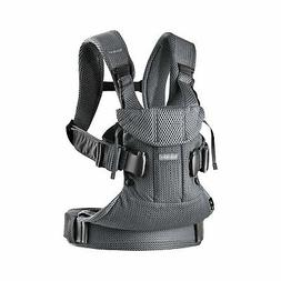 BABYBJORN New Baby Carrier One 2019 Edition, Cotton, Black