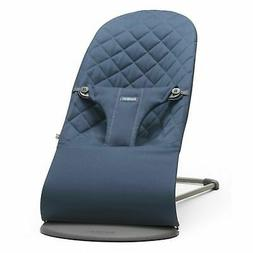 BabyBjorn Convertible Quilted Cotton Bliss Bouncer - Midnigh