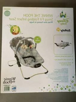 Brand New Winnie the Pooh Disney Baby Infant Bouncer Seat Sn