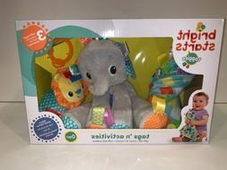 taggies bright starts Tags 'n Activities Baby Gift Set Ele