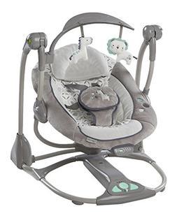 Ingenuity ConvertMe Swing-2-Seat, OrsonGrey