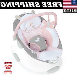 cradling bouncer flora ultra plush seat baby