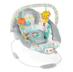 Bright Starts Cradling Bouncer Unisex - Whimsical Wild, Remo