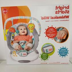 Bright Starts Cradling Bouncer Whimsical Wild Unisex Removab