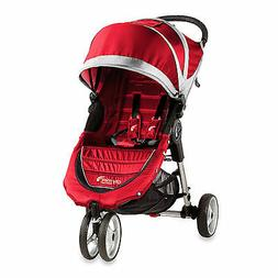 Baby Jogger City Mini Single Stroller Crimson/Gray